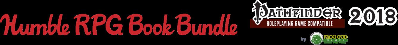 The Humble RPG Book Bundle: Pathfinder 2018 by Frog God Games