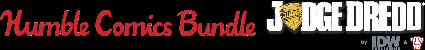 The Humble Comics Bundle: Judge Dredd by IDW & 2000AD