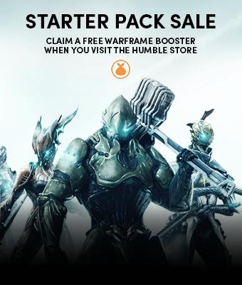Free starter pack for WarFrame