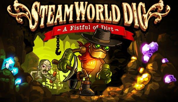 Steamworld Dig 2ff07cfe68d61666d3d5a9c054637e6582e492fa