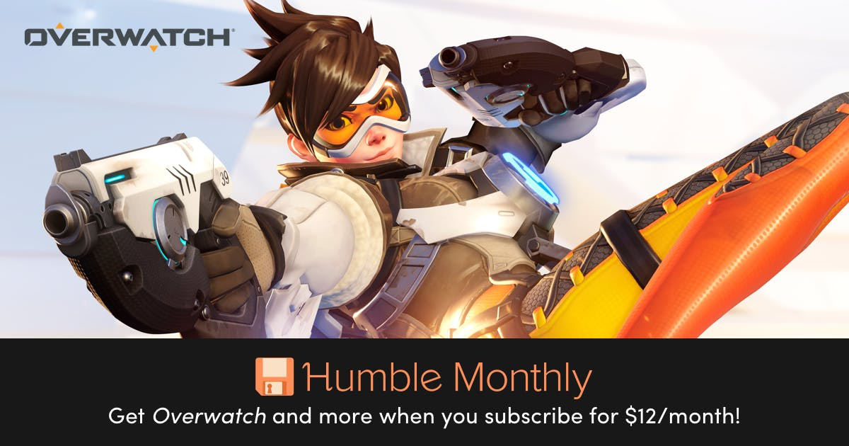 Get Overwatch and more right now for just $12, deal ends in a few days!