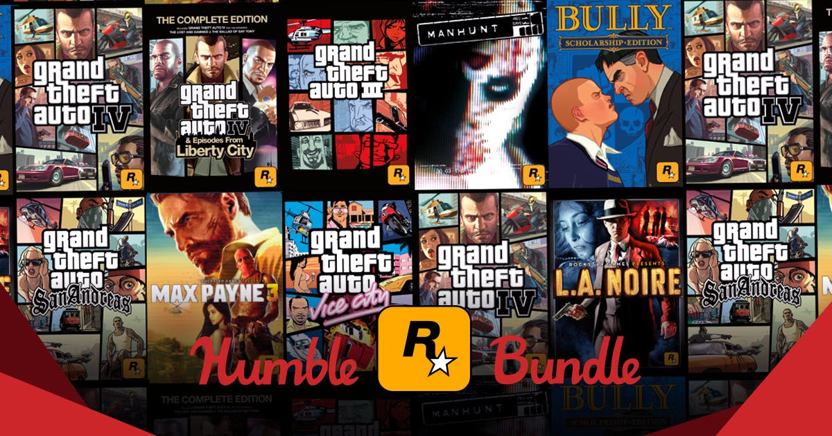 The rockstar games humble bundle fandeluxe Gallery