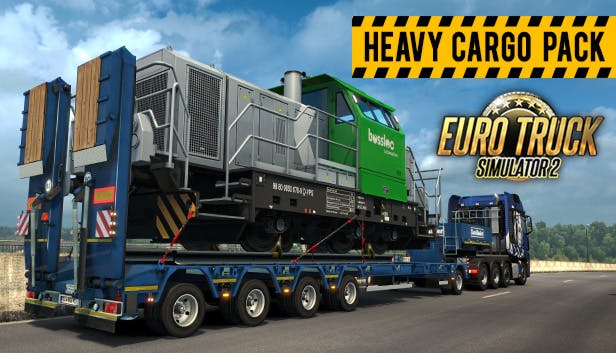 buy euro truck simulator 2 heavy cargo pack from the. Black Bedroom Furniture Sets. Home Design Ideas