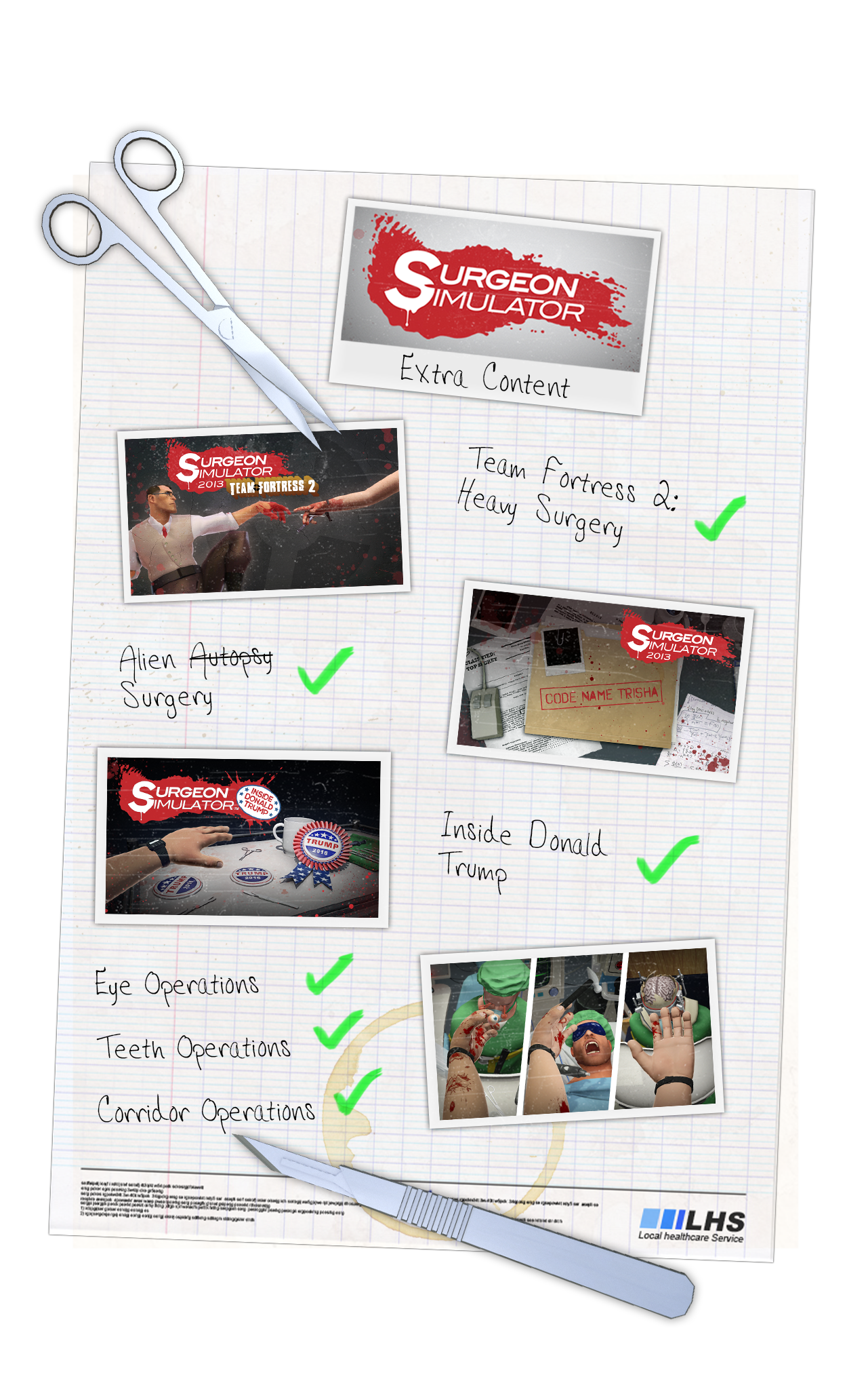 Buy Surgeon Simulator from the Humble Store