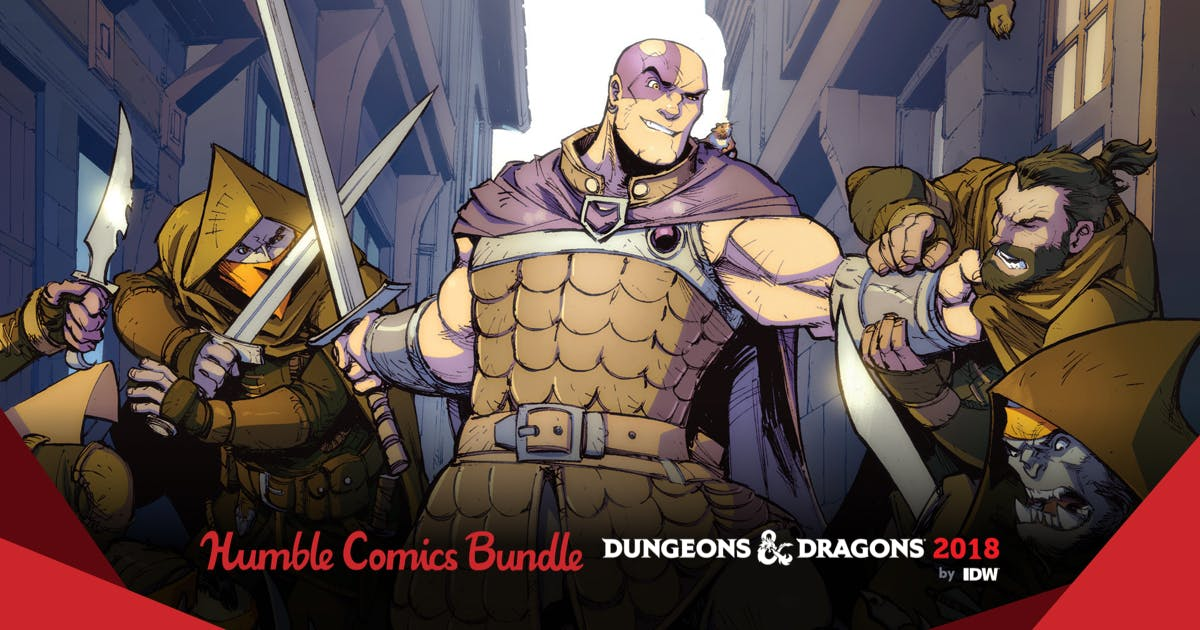 Humble Comics Bundle: Dungeons & Dragons 2018 by IDW
