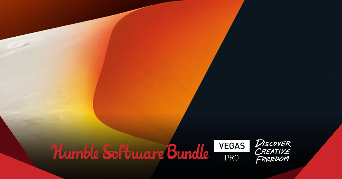 Humble VEGAS Pro Bundle: Creative Freedom