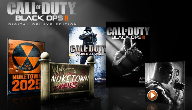 Games the humble store call of duty black ops ii digital deluxe edition voltagebd