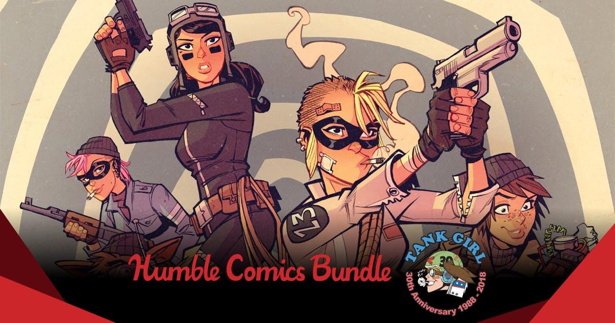 Humble Comics Bundle: Tank Girl 30th Anniversary by Titan